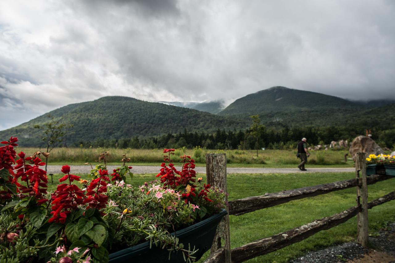 Appalachian Mountain Club Highland Center morning
