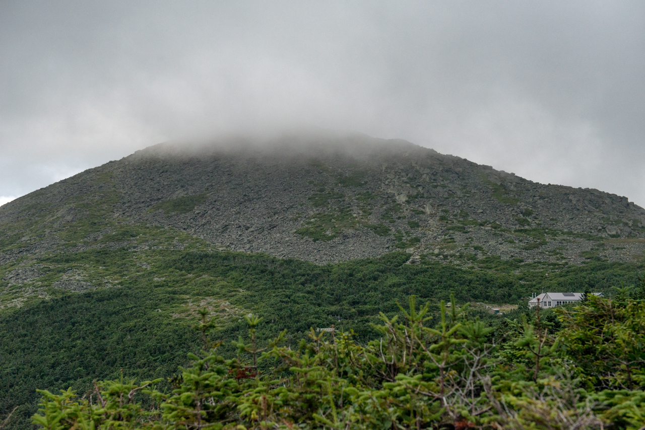 Madison Spring Hut in the Clouds